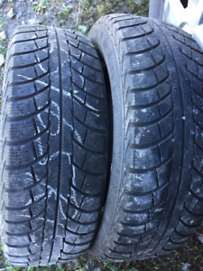 2x Hiver 185/65R15 88t Gislaved Norfrost 5