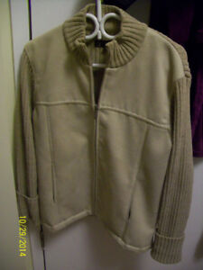 Womens Sweater jacket and Mens Old Navy fall Coat
