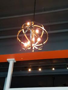 Iron chandelier