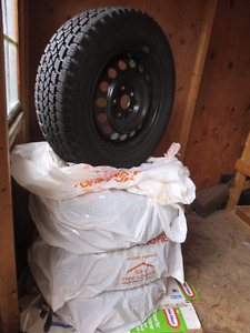 215/65R16 Winter Tires - Like New!