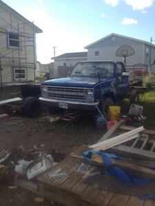1987 Chevy 4x4 up for trade!