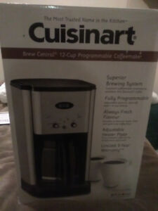 Cuisinart coffee maker for sale  still in the box.