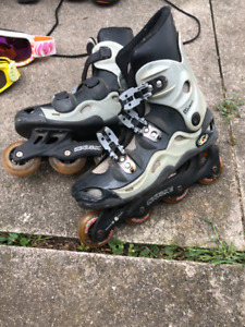 Adult roller blades in good condition! $20!