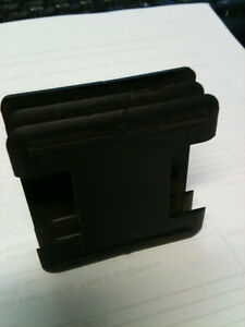 "2 inch Sq. tube end caps  2""x 2"" 100 pcs. for $25.00 Kitchener / Waterloo Kitchener Area image 3"
