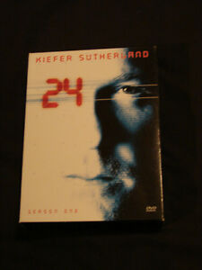 """24"" Season One DVD Box Set 6 disc set Kiefer Sutherland"