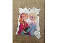 Girls 'Frozen' T-Shirt BNWT Size 6-7