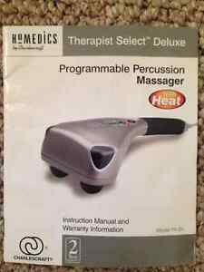 Homedics Programmable Percussion Massager with Heat Stratford Kitchener Area image 2