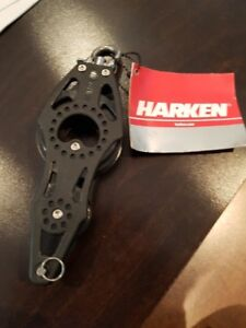 Harken 57MM Carbo Fiddle W/becket air block (new unused)