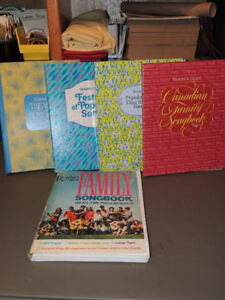 5 Readers Digest Song Books.