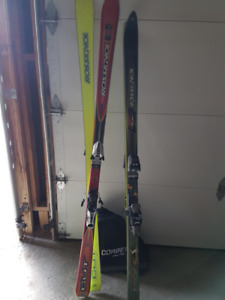Rossignnol parabolic skis  180 cm with  bindings