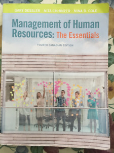 Management of Human Resources: The Essentials 4th Ed