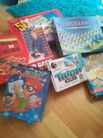 Board games..