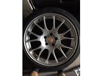 """2x GENUINE BBS CH 19"""" 9.5j 5x120 BMW"""
