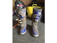 Alpinestars motocross boots