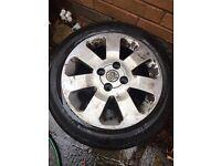 Vauxhall Corsa C sxi alloy with good tyre