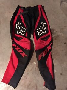 Fox 180 Red and Black pants size 28