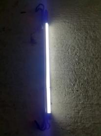 Blue point bonnet extendable light rechargeable