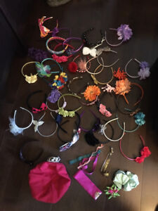34 Hairbands, 2 Scrunchies, 4 Elastic Bands