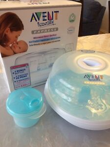 AVENT Microwave Steam Sterilizer with AVENT Formula Container