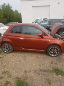FIAT 500 SPORT SALVAGE FOR REPAIR