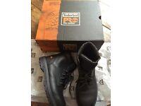 Timberland steal cap work boots brand new