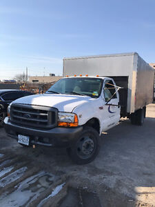 1999 Ford F-550 17' Flat Bed