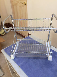 Compact Stainless Dish Drainer