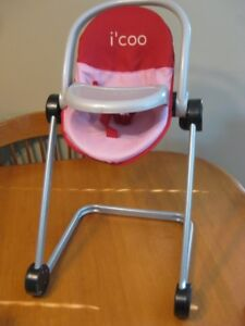 I'COO BABY DOLL HIGHCHAIR