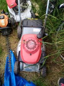 Petrol lawnmowers honda viking flymo