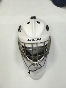 Goalie Jr Mask with Bauer Throat Protector
