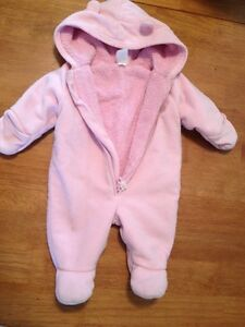 0-3 months old navy fall/winter suit
