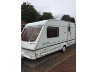 Swift fairway 460 2 berth caravan full awning motor mover