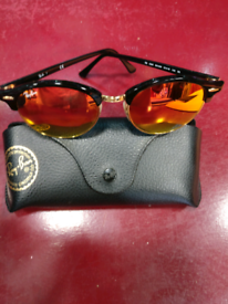 5ca2de8c9d3ea RayBan Sunglasses Genuine Ray-Ban Ora Gold RB 4246 901 4W 51-19