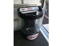 Ribena shop upright display drinks chiller