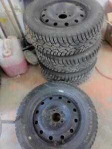 205 60 r16 winter tires on rims 5x114.3