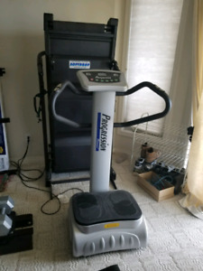 Treadmill & Vibration Trainer