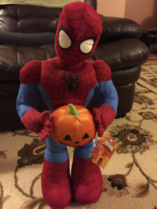 Spiderman Halloween greeter