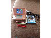 Nintendo DS Lite & Rainbow Island game