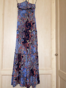 British/European Maxi Dress by Bershka Size S