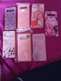 Samsung galaxy S10 cases x 7