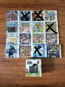 Plusieurs jeux 3ds