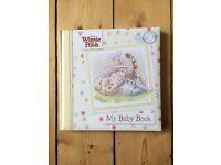 Disney Winnie the Pooh 'My Baby Book' - brand new