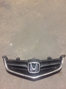 2004 2008 USED JDM ACURA TSX OEM FRONT GRILL CL7 CL9