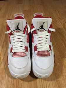 "AIR JORDAN 4 RETRO ""ALTERNATE 89"" Size 9.5"