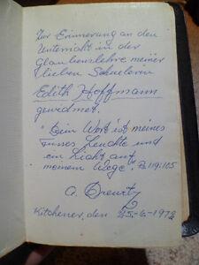 Leather-bound German Bible (1968) Kitchener / Waterloo Kitchener Area image 4