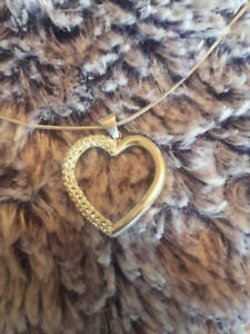 Heart Shaped Necklace $45