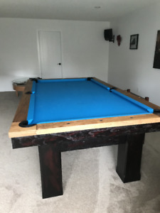 Montvale Pool Table - used once