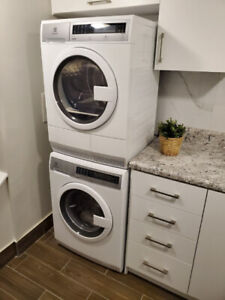 Electrolux Washer & Dryer- Stackable