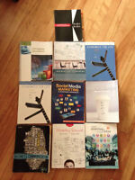 NBCC Business Admin Marketing First and Second year textbooks