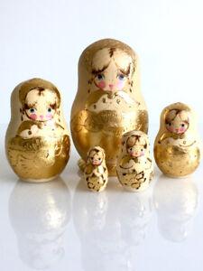 Russian Matryoshka Nesting Dolls Set of 5